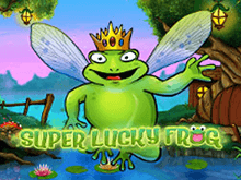 Игровой аппарат Счастливая Супер Лягушка